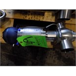 Bardiani 3-Way Clamp/Type/Welded T-Style S/S Air Valve with Giotto Top and 70 cm Outlets (New)