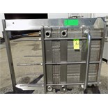 Reda S/S Plate Heat Exchanger with (3) Dividers and 3-Sections - (114) S/S Plates (NOTE: Needs New