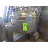 Roversi 120 L / 31 Gal. S/S Cheese Cooker with Oil Circulator (NOTE: Missing Some Parts, Control