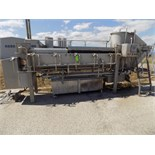 COMAT 1,200 Kg/Hr. Stretcher with Simens Simatic Touchpad Display, Complete S/S Pipe (Part Of