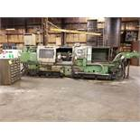MORI-SEIKI TL-40 HORIZONTAL CNC LATHE,12' BED, 11'' CENTER OVER BED,HYDRAULIC STEADY REST,