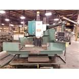 MATSUURA MC-1000 VERTICAL CNC MACHINING CENTER, 55'' X 20'' TABLE, WIDE ENVELOPE, 2 1/4'' BORE,