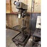 CLAUSING VERTICAL DRILL PRESS, MODEL 2275, S/N 523549, .012 REV FEED, 7'' VERTICAL TRAVEL, 1''