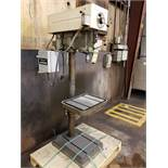DELTA ROCKWELL VERTICAL DRILL PRESS, MODEL 17-600, 20 1/2'' X 16'' TABLE, 1HP, VARIABLE SPEED