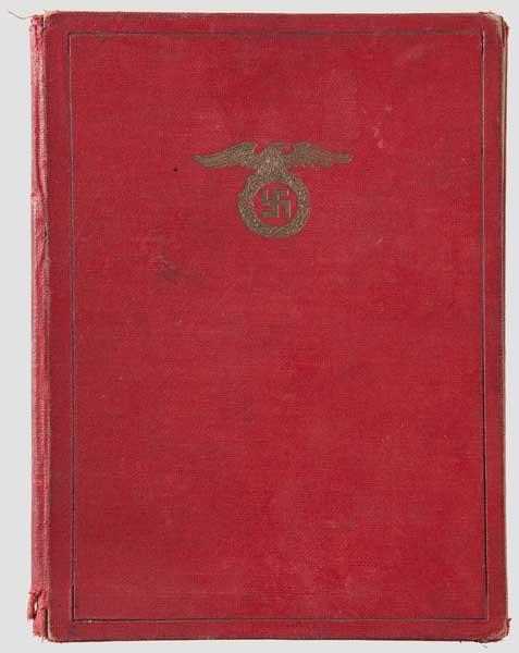 Auktionslos 7225 - Julius Schreck (1898 - 1936) - Mitgliedsbuch der NSDAP, Nr. 53 , SS-Führerausweis und Führerschein