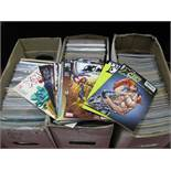 In Excess of Four Hundred Modern Comics, by DC, Marvel, Epic, Dark Horse and other including