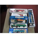 Three Corgi 1:50th Scale Diecast Model Vehicles, including #51002 Mack LJ semi skirted tanker '