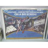 Star Wars Quad Poster 'The Empire Strikes Back', 1979, printed by Berry of Bradford, 76 x 101.5cm,