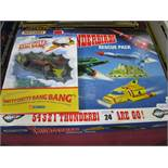 A 'Matchbox' Thunderbirds Rescue Pack, boxed and a Corgi re-issue 'Husky' Chitty Chitty Bang Bang,