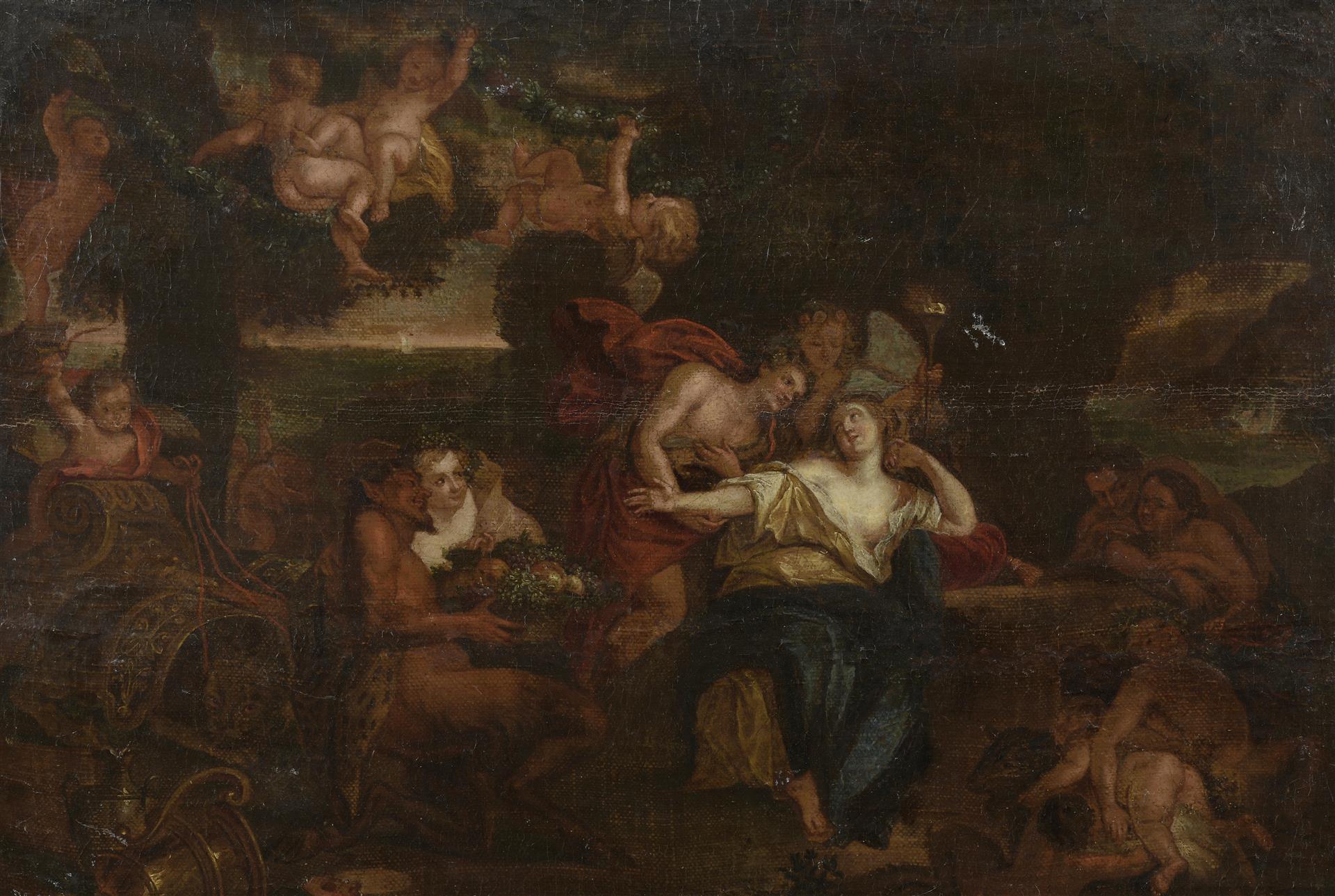 Lot 44 - École française XVIIe siècle, suiveur de Charles Antoine Coypel (1694-1752). [...]
