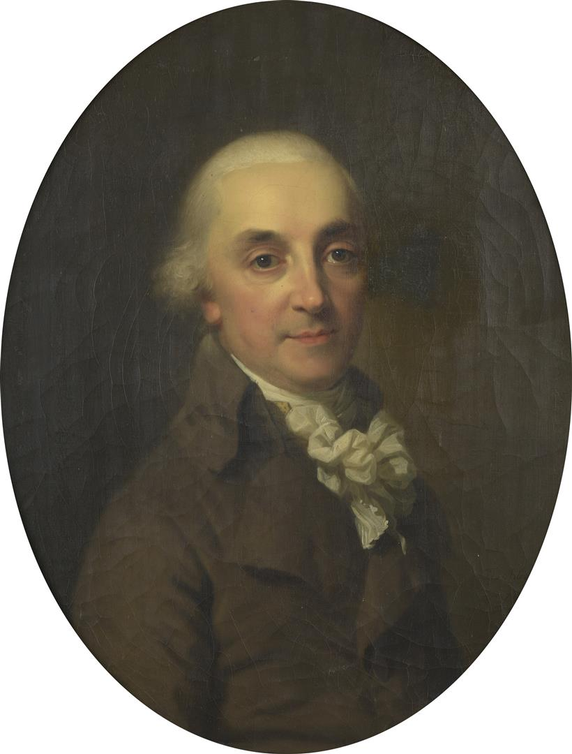 Lot 60 - Johann-Friedrich August TISCHBEIN (1751-1812). Portrait d'Étienne-Paul Renouard en [...]