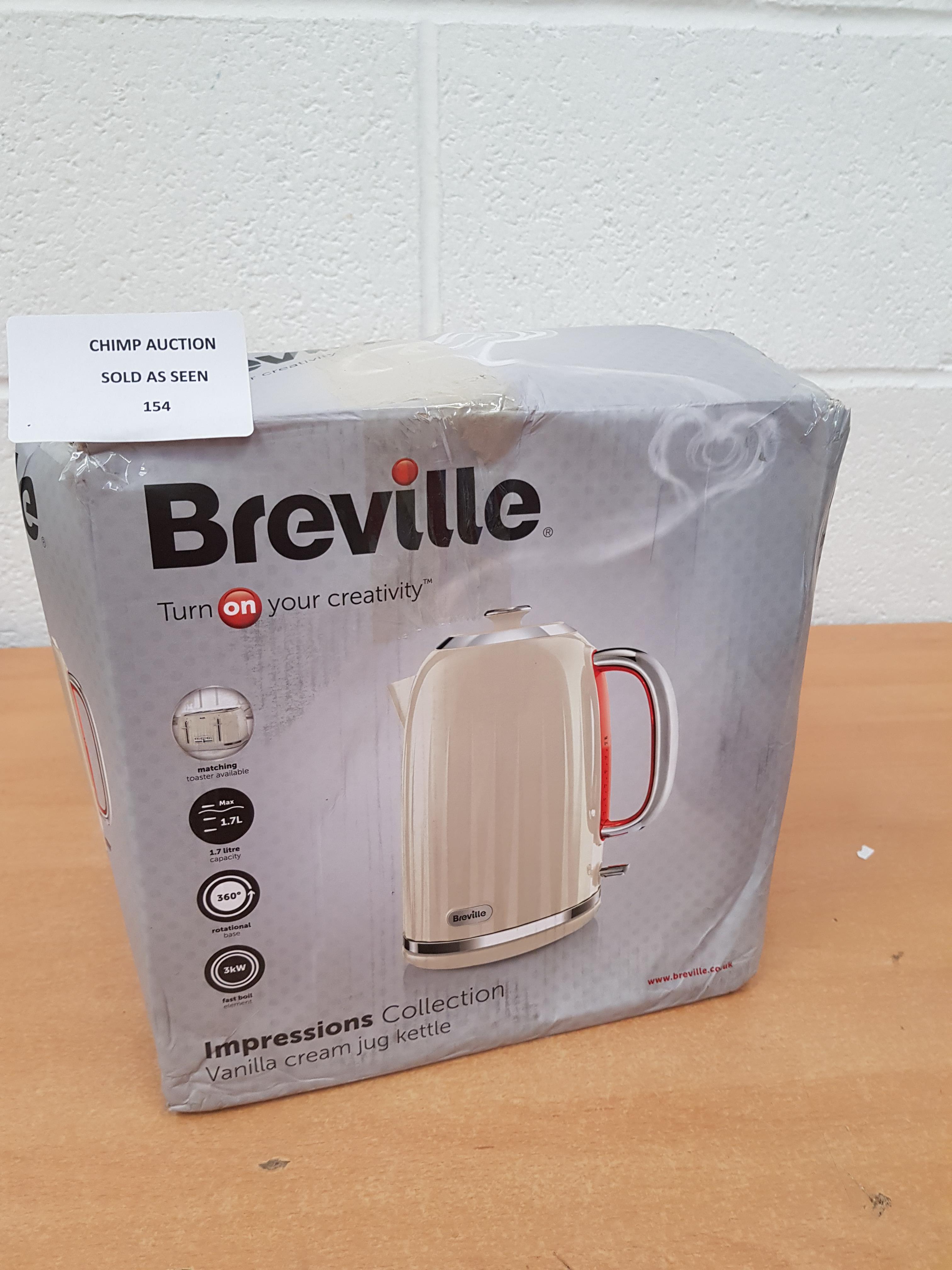 Lot 154 - Breville Impressions Jug Kettle