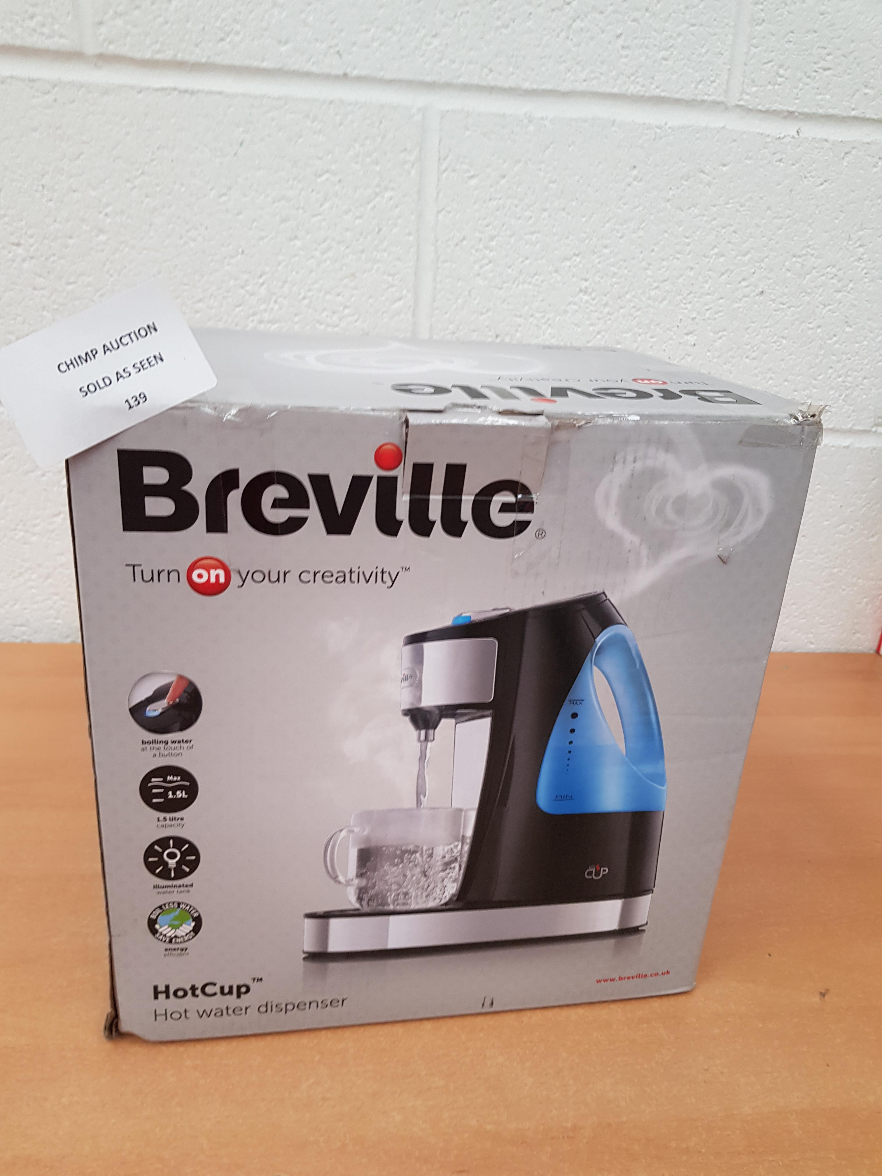 Lot 139 - Breville HotCup Hot water dispenser