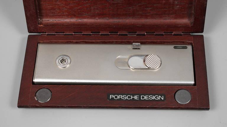 feuerzeug porsche design 1980er jahre titanium geh use. Black Bedroom Furniture Sets. Home Design Ideas