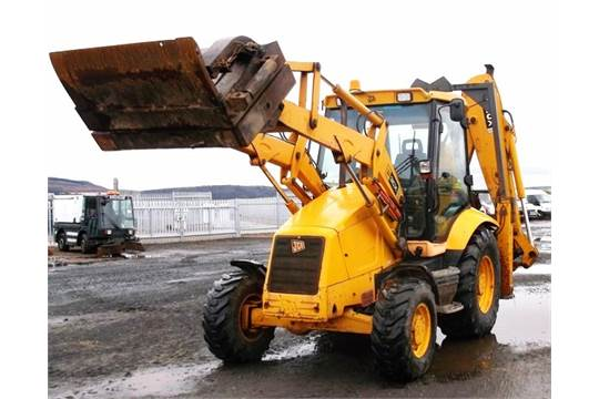 2004 JCB 3CX BACKHOE LOADER C/W FRONT MOUNTED POLE GRAB, SN