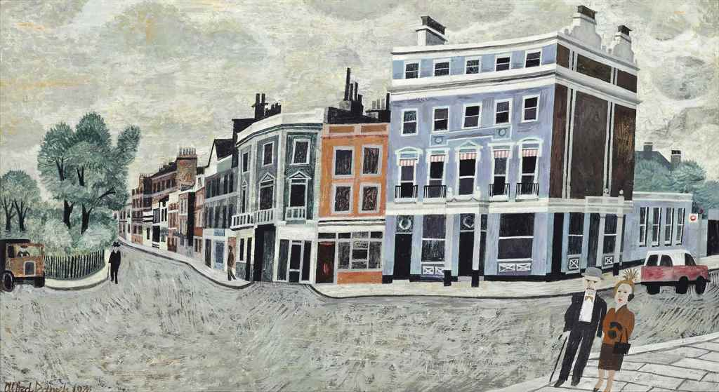 Lot 122 Alfred Daniels R W S 1924 2017 The Old Pier Hotel