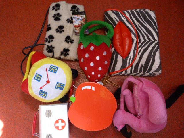 Lot 261 - *Seven Novelty Handbags