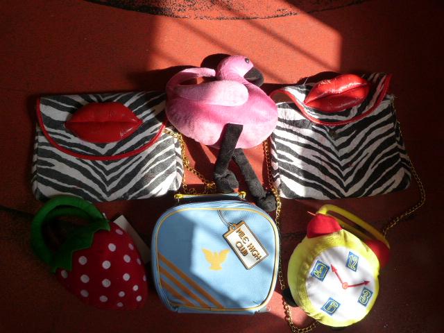 Lot 260 - *Six Novelty Handbags