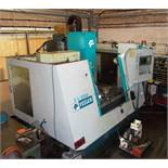 Feeler FV-800SE CNC machining centre (Serial Number: VDN393, Year: 2000), with Fanuc Series O-MC