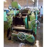 Sykes Type C52 gear shaper. *Please note, purchasers must drain the machines of oil, and remove with