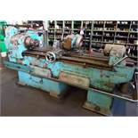 "Pratt and Whitney Model C 6"" thread milling worm and thread miller, with cabinet and trolley of"