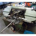 Jaespa W260A horizontal band saw (Machine number: 776802) with roller feed table