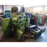 Sykes double helical gear shaper *Please note, purchasers must drain the machines of oil, and remove