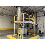 AIRECON MODEL 15 SPIN FLO WET DUST COLLECTOR SYSTEM; S/N P-1515 (2009) WITH NYB 264   Rig Fee: $2800