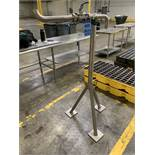 """2"""" SANITUBE MODEL TCBV-200 STAINLESS STEEL VALVE WITH STAND, 316 STAINLESS STEEL   Rig Fee: $35"""