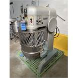 HOBART 80 QUART MIXER MODEL L-800; S/N 11-043-672, 1.5 HP, 60 HZ, 3-PHASE WITH (3)   Rig Fee: $300