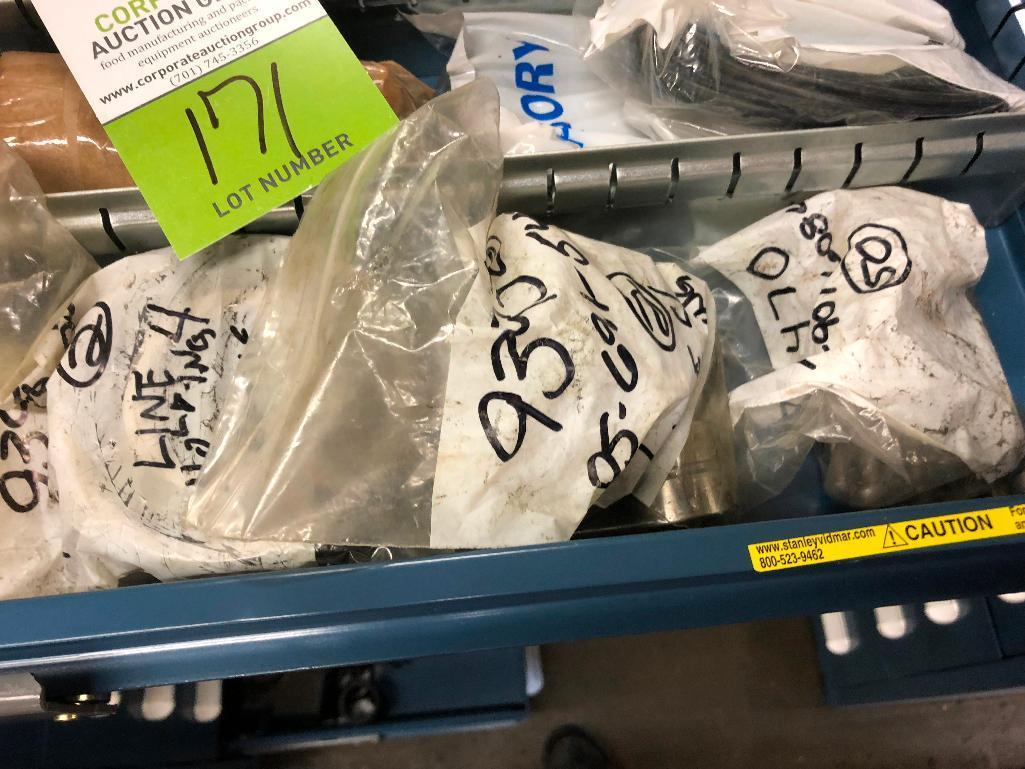 Lot 171 - Triclover PD pump spare parts - ** Located in South Beloit, Illinois ** Rigging Fee: $50