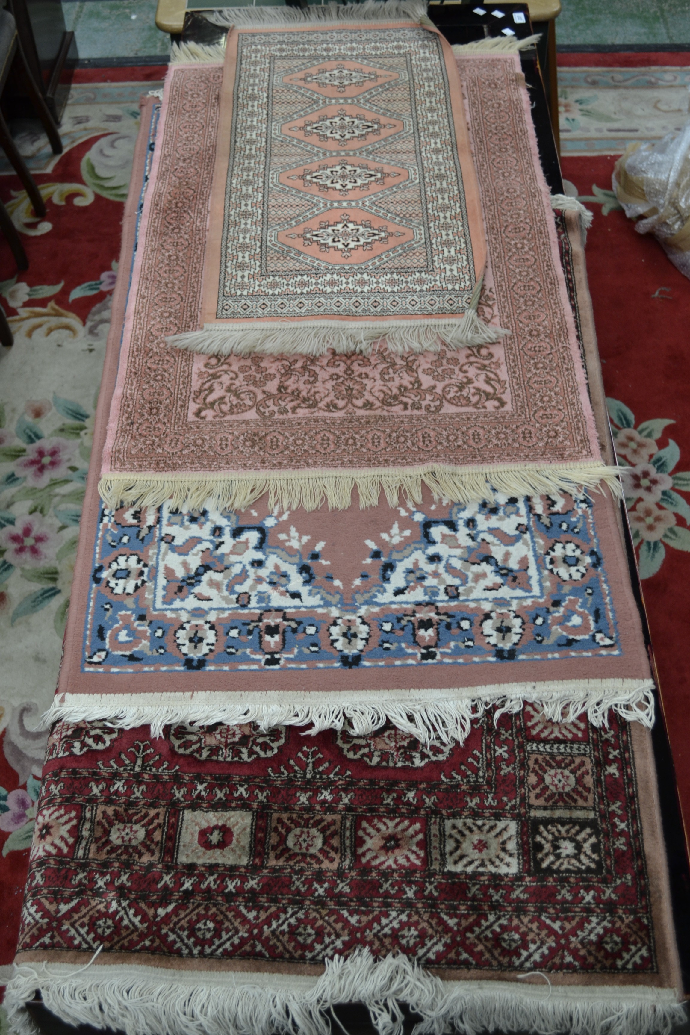 Lot 236 A Yamound Reproduction Persian Rug