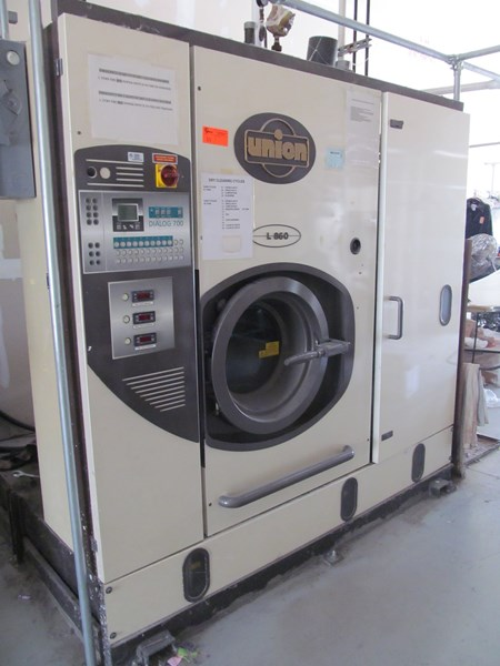 union dry cleaning machine 3 phase 2001 dialog 700. Black Bedroom Furniture Sets. Home Design Ideas