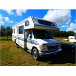 1992 FORD 27' CLASS C MOTOR HOME - SLEEPS 6 W/ BUILT IN GENERATOR, 460 GAS ENGINE, A/C
