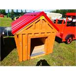 """44""""X56"""" DOG HOUSE - NOT INSULATED"""