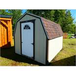 HAND CRAFTED 8'X10' HIP ROOF GARDEN SHED