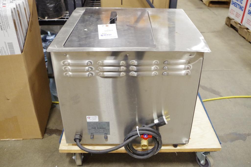 Lot 8 - GRAYMILLS 13-Gal. Ultrasonic Power BT 130SE Heated Cleaner Retail: $5000
