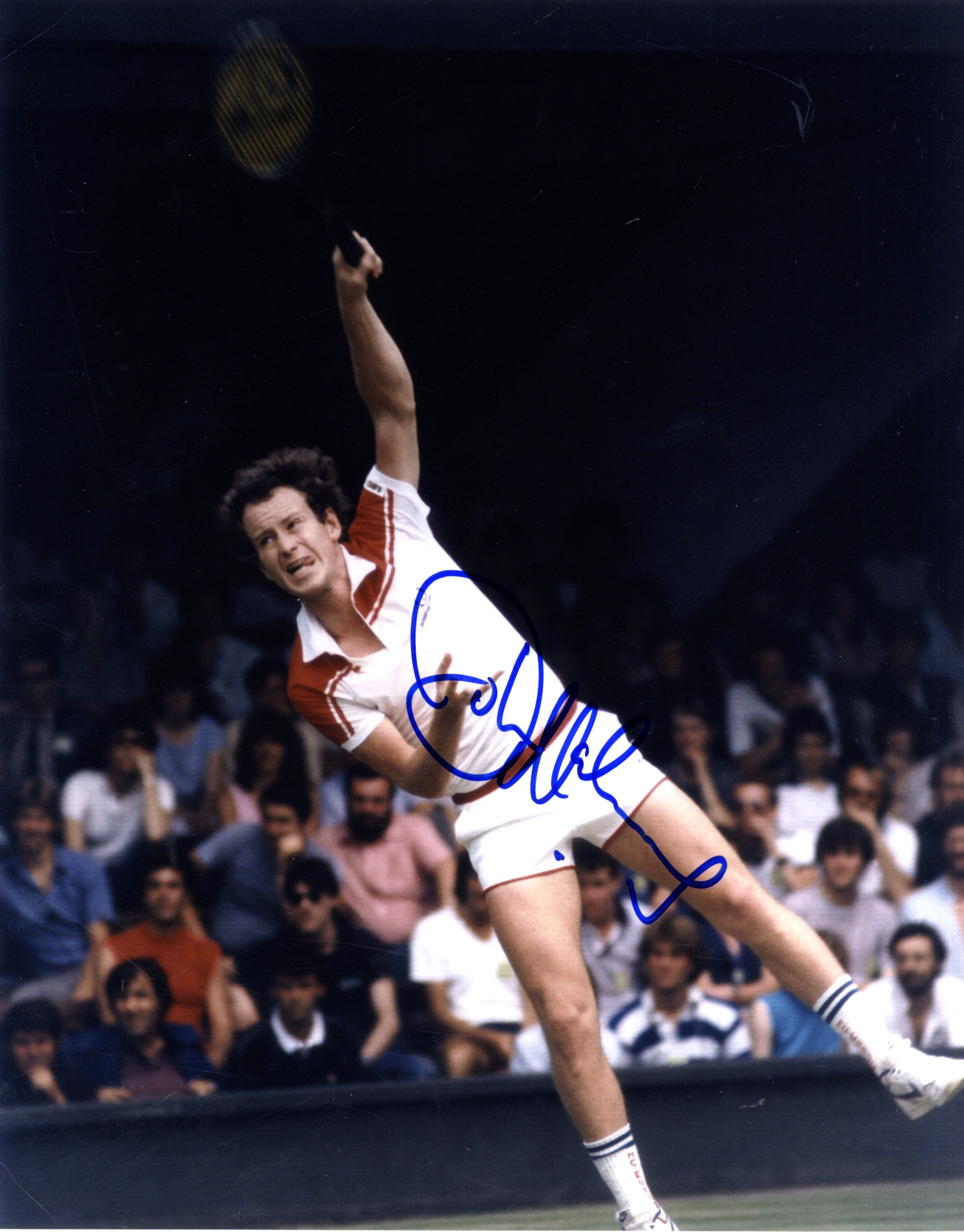 TENNIS John McEnroe 1959 American Tennis Player Wimbledon