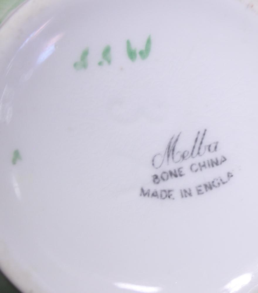 "Lot 47 - A Melba part tea service and a Minton ""Greenwich"" pattern part dinner service"