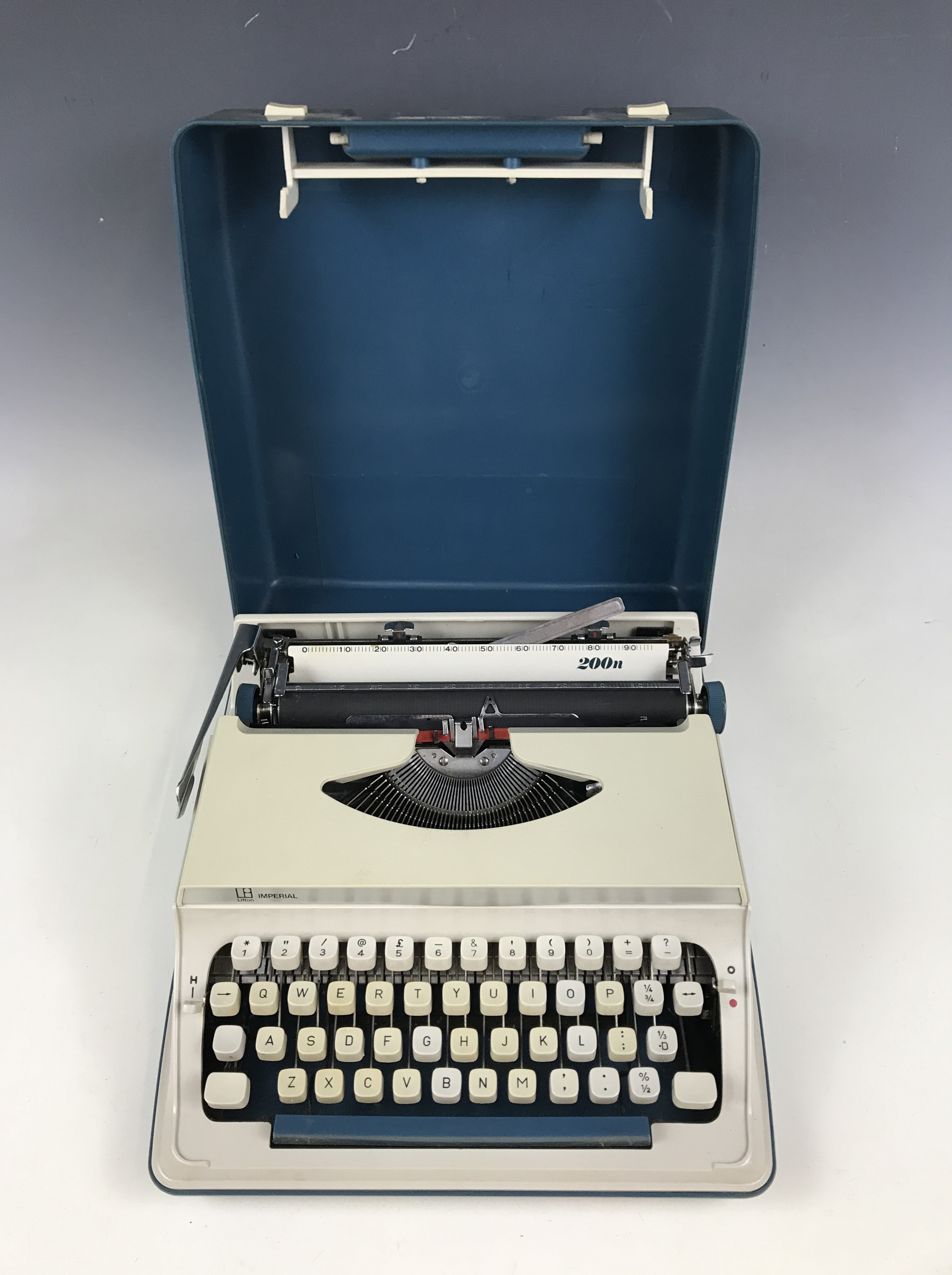Lot 12 - An Imperial 200 N portable typewriter