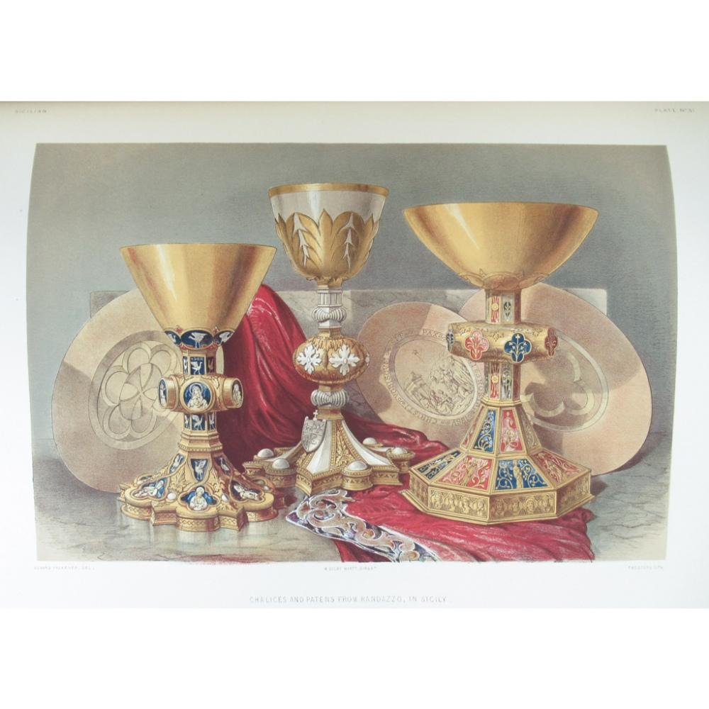 Lot 30 - WYATT, SIR MATTHEW DIGBYSPECIMENS OF ORNAMENTAL ART WORKMANSHIP IN GOLD, SILVER, IRON, Brass and
