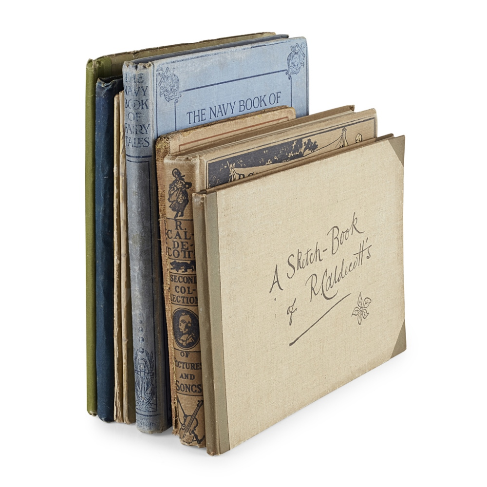 Lot 52 - 8 CHILDREN'S BOOKSINCLUDING GREENAWAY, KATE A Day in a Child's Life. London: George Routledge and