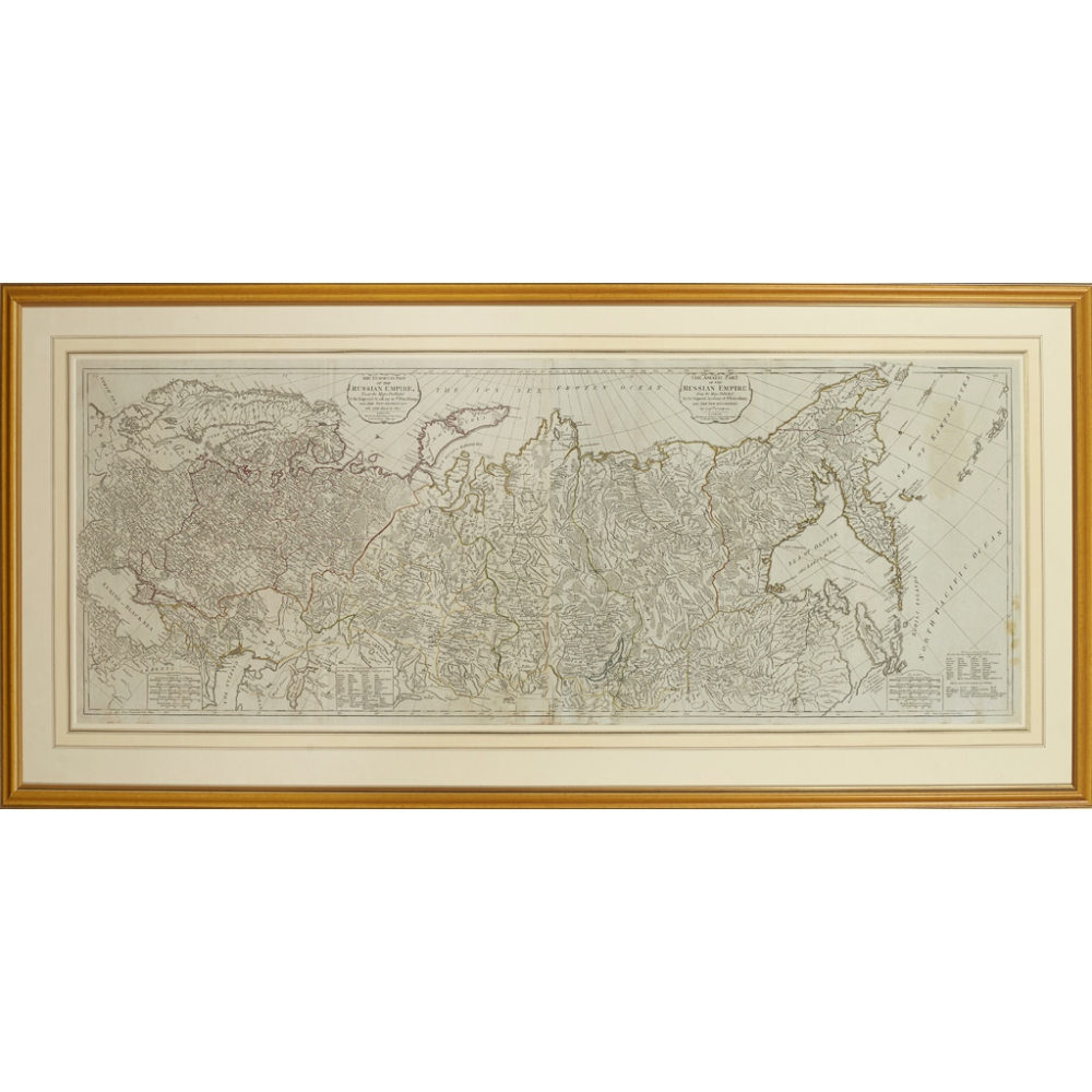 Lot 50 - SAYER, ROBERTTHE ASIATIC & EUROPEAN PART[S] OF THE RUSSIAN EMPIRE London: Robert Sayer, 1788-1790,
