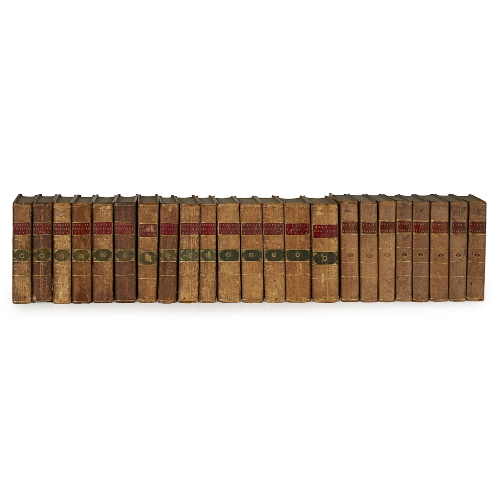 HUME, DAVIDTHE HISTORY OF ENGLAND London: T. Cadell, 1790. 8 volumes, 8vo, portrait, plates,