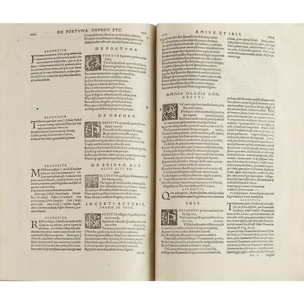 VERGILIUS MARO, PUBLIUSOPERA, QUAE QUIDEM EXTANT, OMNIA... Basel: Heinrich Petri, 1575. Small