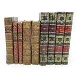 CONTINENTAL LEATHER BOUND WORKS9 VOLUMES Tasso, Torquato La Gerusalemme e l'Aminta... Paris: Baudry,