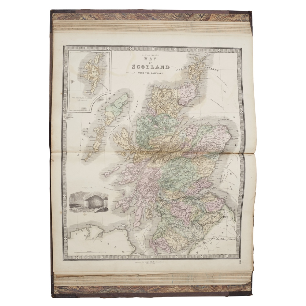 Lot 31 - ATLAS - GALL & INGLIS, PUBLISHERSTHE EDINBURGH IMPERIAL ATLAS, ANCIENT AND MODERN Revised and