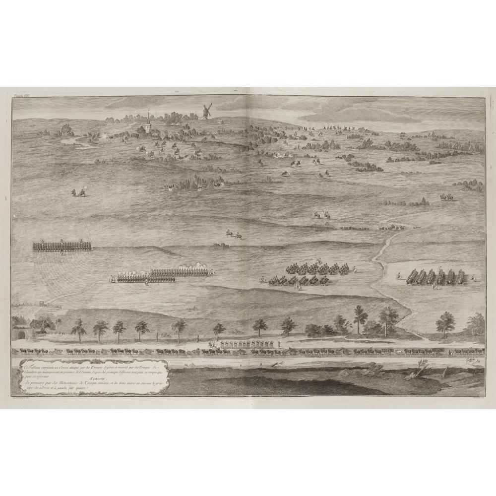 [DRUMMOND DE MELFORT, GUY, COMTE DE][TRAITÉ SUR LA CAVALERIE] [Paris: Guillaume Desprez, 1776] Large