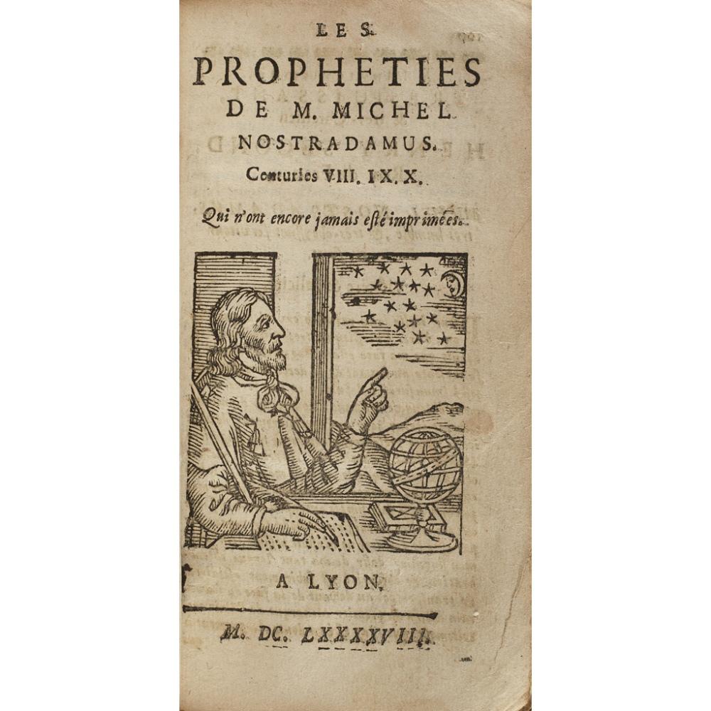 NOSTRADAMUS, MICHEL DE LES PROPHETIES - Image 2 of 2
