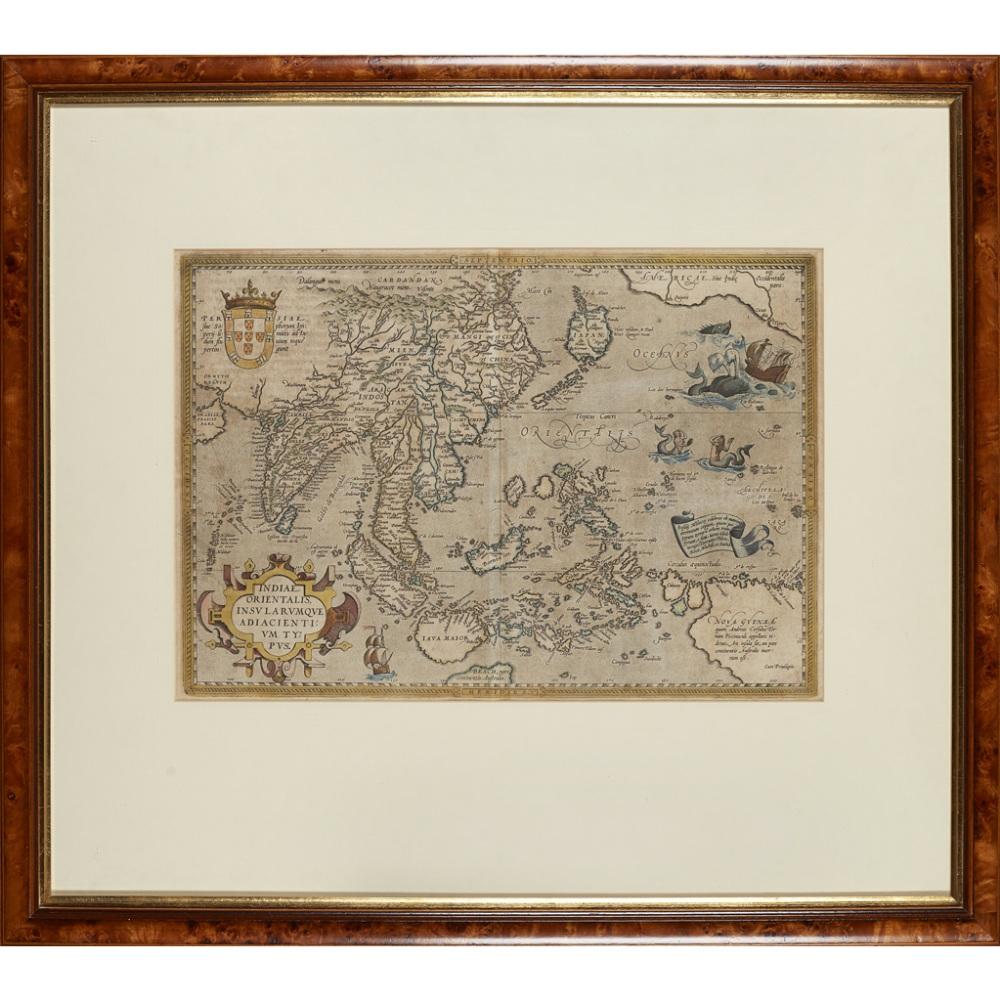 Lot 47 - ORTELIUS, ABRAHAM - ASIAINDIAE ORIENTALIS, INSULARUMQUE ADIACIENTIUM TYPUS Antwerp, [1570 or later],